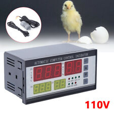 Digital Automatic Incubator Controller Egg Hatcher Temperature Humidity Durable