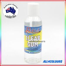 125ML OZ Made NON TOXIC CLEAR GUM Water Based adhesive for SLIME Non Staining