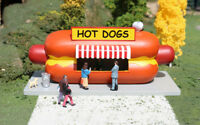 Williams By Bachmann O Scale Train Roadside Usa Resin Buildings Hot Dog Stand