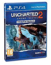 Uncharted 2: Among Thieves Remastered-Playstation 4 (PS4) - UK/PAL