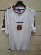 Maillot / T-S shirt MANCHESTER UNITED training UMBRO époque CANTONA vintage L