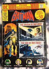 DC 100-Page Super Spectacular DC-20 (1973) Batman, Spectre, *origin of Two-Face