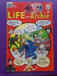 1966 LIFE WITH ARCHIE #55 VG 4.0 Archie Comics 1960s Betty Veronica Jughead
