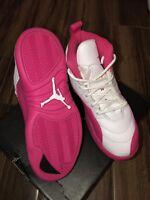 "Nike Air Jordan 12 ""Vivid Pink"" Size 1.5y"