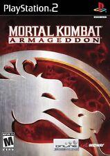 Mortal Kombat: Armageddon - Playstation 2 Game Complete
