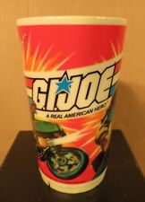 1982 Rare Canadian G I Joe Plastic Cup by Irwin Toy