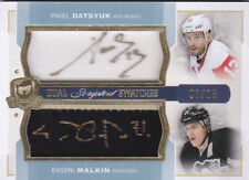 14-15 The Cup Pavel Datsyuk Evgeni Malkin /15 Auto Patch Scripted Swatches 2014