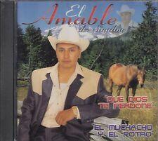 El Amable De Sinaloa Que Dios Te Perdone CD New Nuevo Sealed