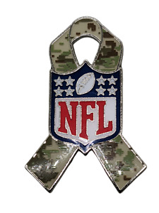 NFL Salute to Military Service Lapel Pin/Hat Pin Camouflage 2019-Free Shipping