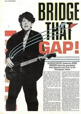 Scheck4p12 Article & Pictures : The thompson twins- bridge that gap