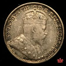 1908 Canada 5 Cents Small 8 - EF - Lot#366