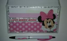 I Love Minnie Checkbook Cover with Free Pink Ribbon Awareness Pen