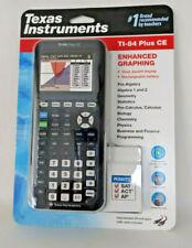 Texas Instruments TI 84 Plus CE Graphing Calculator - Black