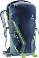 Zaino Backpack Alpinismo Arrampicata DEUTER GRAVITY Rock & Roll 30 Navy Granite