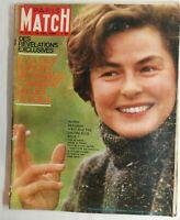 N479 Magazine Paris-Match N°714 15 décembre 1962 espions France, Ingrid Bergman