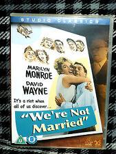 CLASSIC = WE'RE NOT MARRIED stars MARILYN MONROE MITZI GAYNOR= VGC