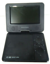"Insignia 7"" Portable DVD Player NS - P7DVD15 - SWIVEL SCREEN - Black Free Ship"