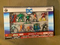 DC Nano Metalfigs Set of 10 Batman Superman Green Lantern Wonder Woman NEW MIB