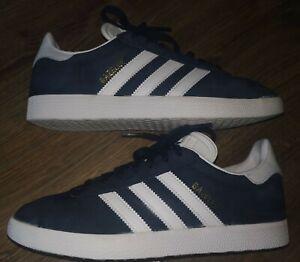 Men's Adidas Gazelle Originals Trainers in UK 7 in Navy Blue.