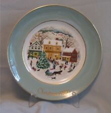 Vintage Avon Country Christmas Plate 1980