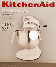 KitchenAid Teig-Knet-Küchenmaschine 5KSM7990XEWH Professional 6,9L,325 W,Weiß