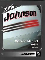 2006 JOHNSON OUTBOARD MOTOR  30 HP 4 STROKE P/N 5006592 SERVICE MANUAL (038)
