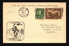 Canada 1931 FFC Calgary to Lethbridge - L2049