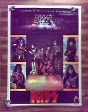 """Original 1977 KISS Jumbo """"Love Gun"""" Poster #3001 RARE"""
