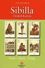 ORIGINAL SIBILLA ORAKEL KARTEN - Uta Dittrich - BUCH & TAROT SET - NEU