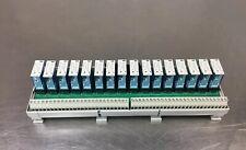 ALLEN BRADLEY 1492-XIM2024-16R /A with 16 700-HK36Z24 /B Relays 20-26VDC.  4B