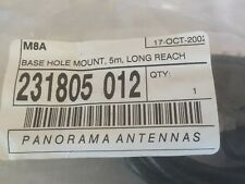 Panorama M8A 6mm Body Mount Antenna Base