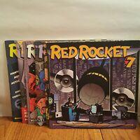 RED ROCKET 7 1997-98 Comic Magazine # 1 2 4 5 6 7 Dark Horse Mike Allred lot 6