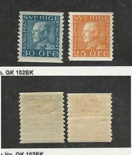 Sweden, Postage Stamp, #177-178 Mint Hinged, 1921-36