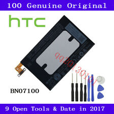NEW Genuine BN07100 Battery For HTC One M7 35H00201-01M 801e 801n + 9 Open Tools
