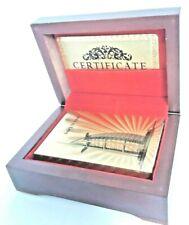 BURJ Gold Playing Cards 24k Carat Gold Plated Game Poker Gift Box Deck