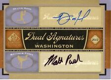 Destin Hood / Matthew Purke 2012 Upper Deck SP Signature Dual Auto Autograph