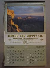 Hubley Service Motor Supply Co. 1967 Calendar Nature 16x24