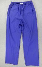 Columbia PVC WaterProof Rain Pants (Mens Large) Purple