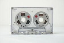 AML Kassette mit Aluspulen A.M.L. Cassette tape C60