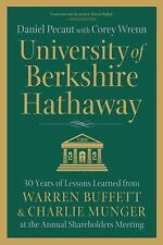 University of Berkshire Hathaway: 30 Years of Lessons Learned from Warren Buffet