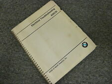 1980 1981 1982 BMW 630CSi Coupe Electrical Wiring Diagram Troubleshooting Manual