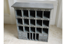 Retro Large Wooden Storage Cabinet - Shelving Display