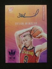 2019-20 Panini Court Kings Dylan Windler AUTO BLUE /25 PARALLEL FRESH PAINT RC