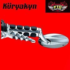 "Kuryakyn Trident Bar End Mirror Universal: 1"" or 7/8"" Handlebars 6370"