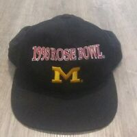 Vintage University of Michigan 1998 Rose Bowl Snapback Hat Cap