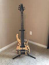 Modulus Buckeye Burl Quantum Q5 Electric Bass Guitar