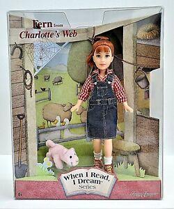 FERN from CHARLOTTE'S WEB~When I Read, I Dream Series~Mattel~NEW~Vintage~2001