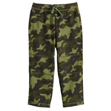 Toddler Boy Jumping Beans Camo Fleece Pants, Size 5T, Retail $18.00