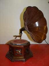 Antique Gramophone His Master's Voice With Bell FOR PARTS OR REPAIR NOT WORKING