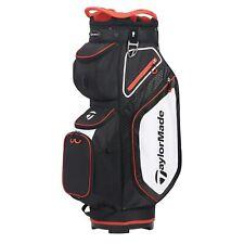 TaylorMade Mens Cart 8.0 Cart Golf Bag 2020 - Navy/White/Red